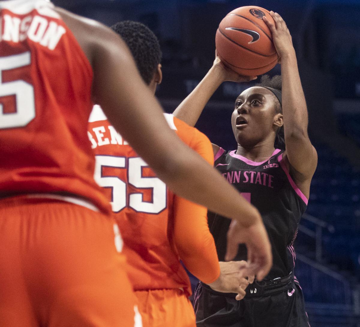 Women's Basketball vs. Clemson, Siyeh Frazier (4)