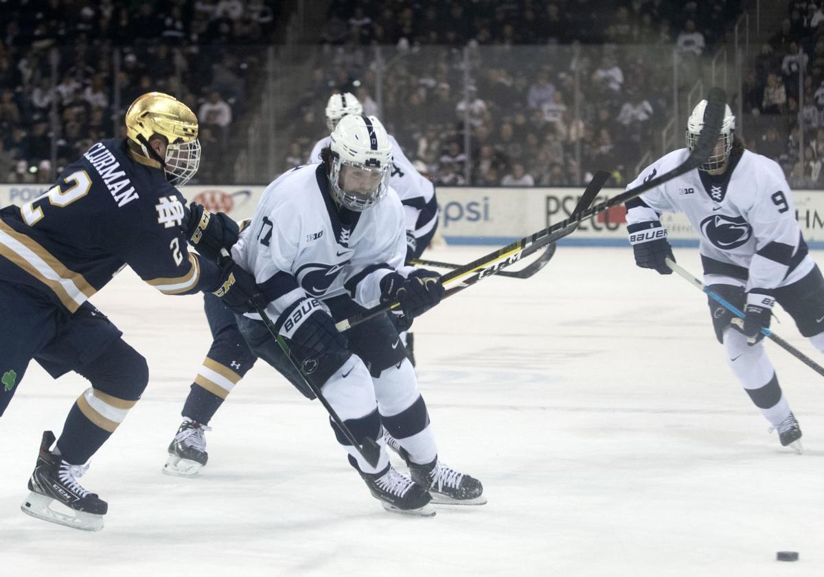 Men's Hockey vs. Notre Dame, Barratt (17)