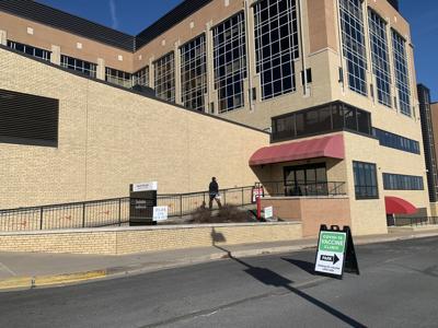 Mount Nittany Medical Center vaccine entrance