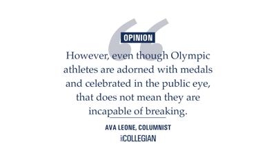 athletes mental health column quote graphic