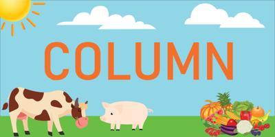 vegan column graphic