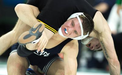 Arbitrator rules against former Penn State wrestler Zain Retherford in second Final X bout, orders re-wrestle