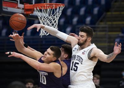 Penn State Men's Basketball vs Northwestern, Buttrick (15)