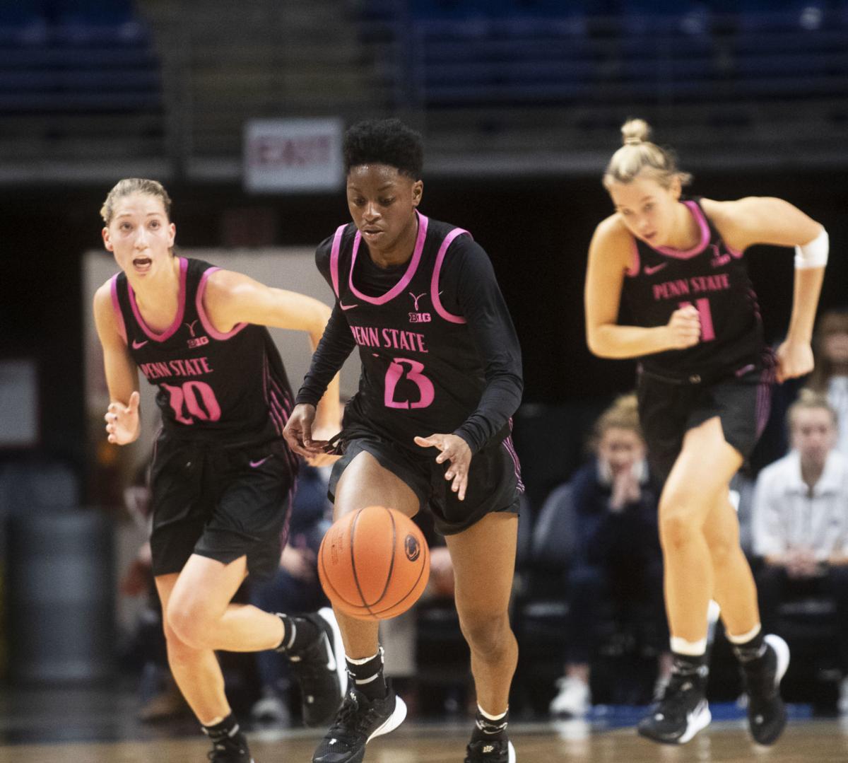Women's Basketball vs. Clemson, Shay Hagans (23)