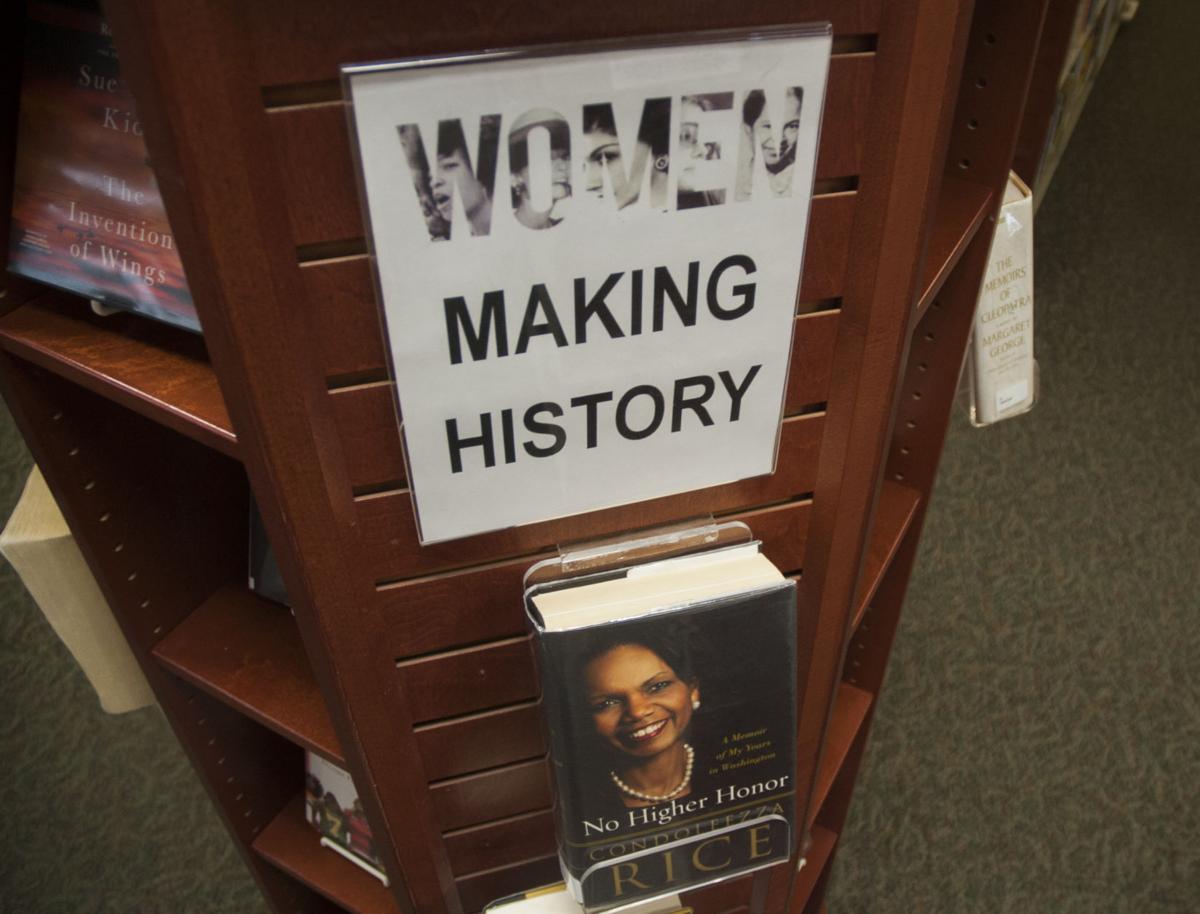 Women's History Month Schlow Display