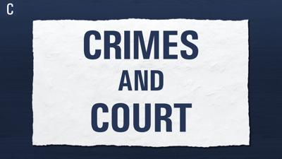 Crimes and Court Graphic