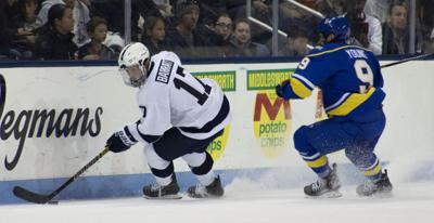 Men's Hockey vs. Alaska-Fairbanks, Barratt (17)