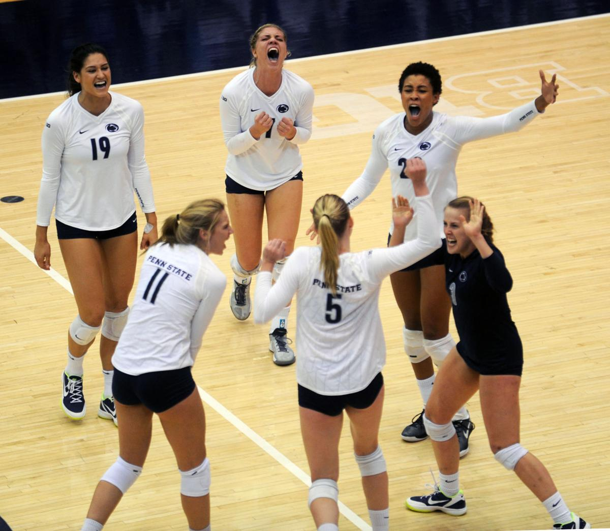 Penn State women's volleyball sweeps Rutgers Scarlet ...