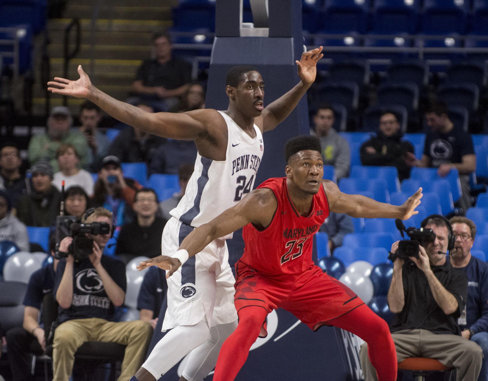 Menu0027s Basketball vs Maryland Penn State menu0027s