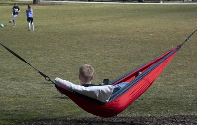 Penn State's first 'hammock grove' installed in East Halls