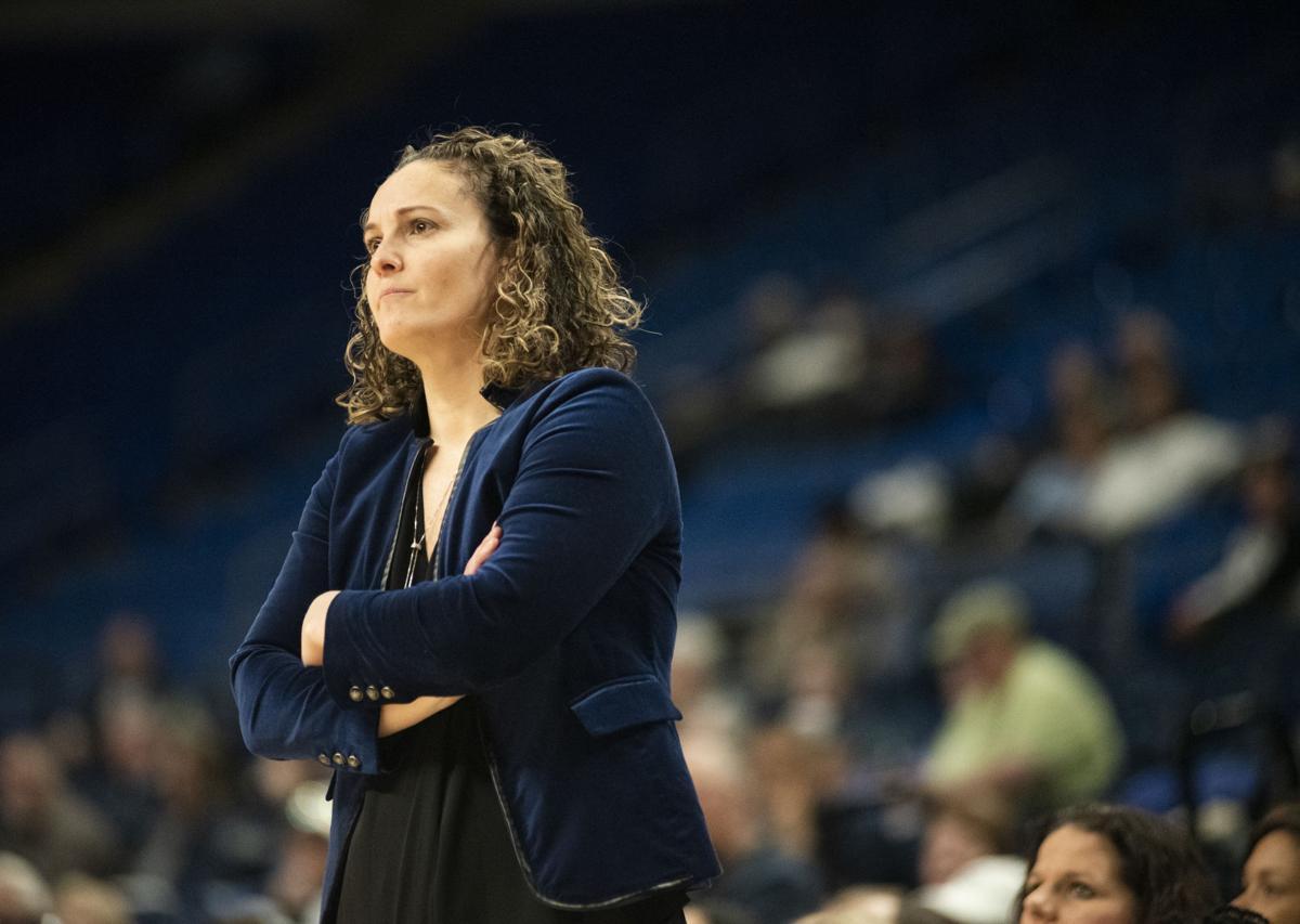 Women's basketball vs. Indiana, Coach Kieger
