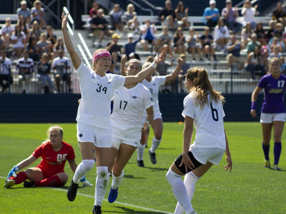 Penn State Women's Soccer vs. James Madison University, Ally Schlegel (34)