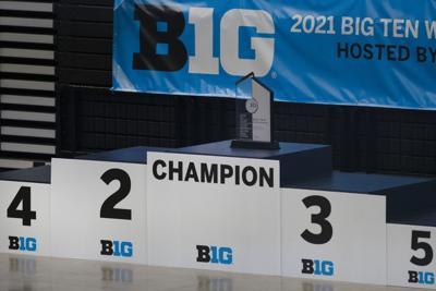 Big Ten Wrestling Championship Podium