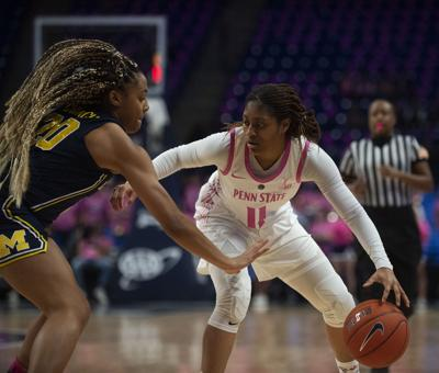 Penn State Women's Basketball vs. Michigan, Teniya Page (11)