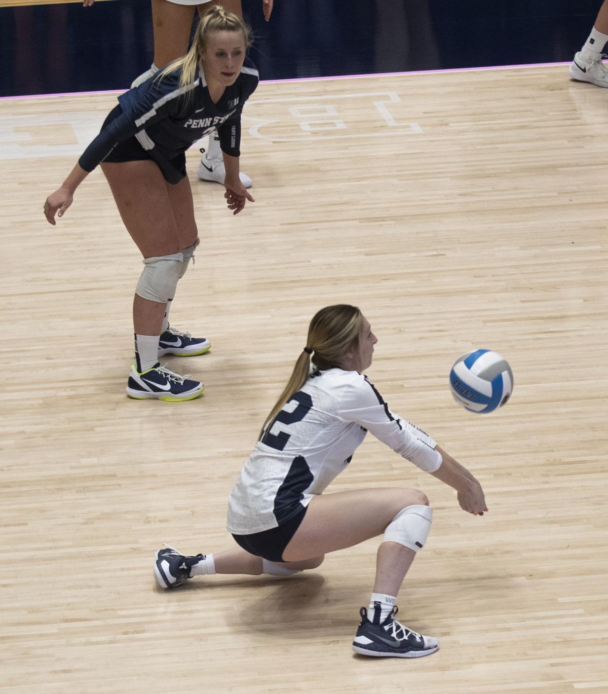 Women's Volleyball vs. Iowa, Holcomb (12)