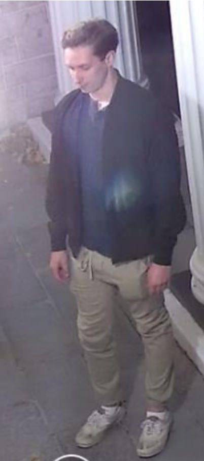 Suspect Monday, Nov. 16, 2020