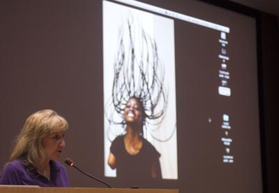 Four-time Pulitzer Prize winning photojournalist Carol Guzy