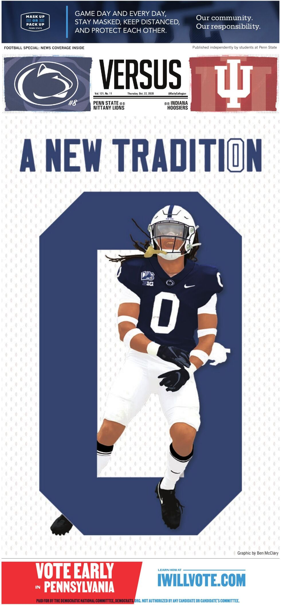 The Daily Collegian for Oct. 22, 2020