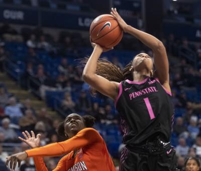 Women's Basketball vs. Clemson, Alisia Smith (1)