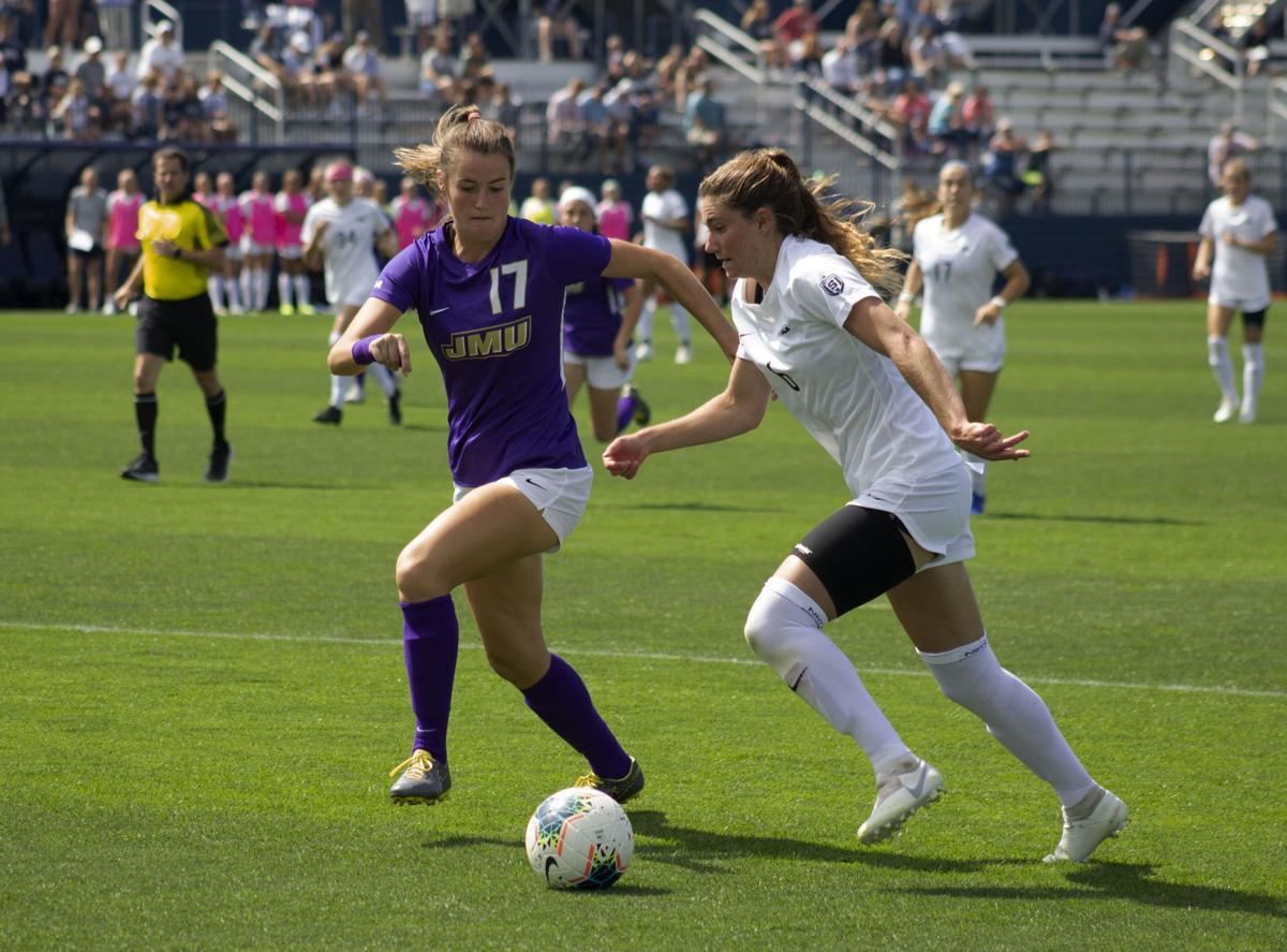 Penn State Women's Soccer vs. James Madison University, Kate Wiesner (6)