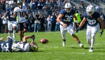 Penn State vs Purdue, Lamont Wade (38) pass breakup