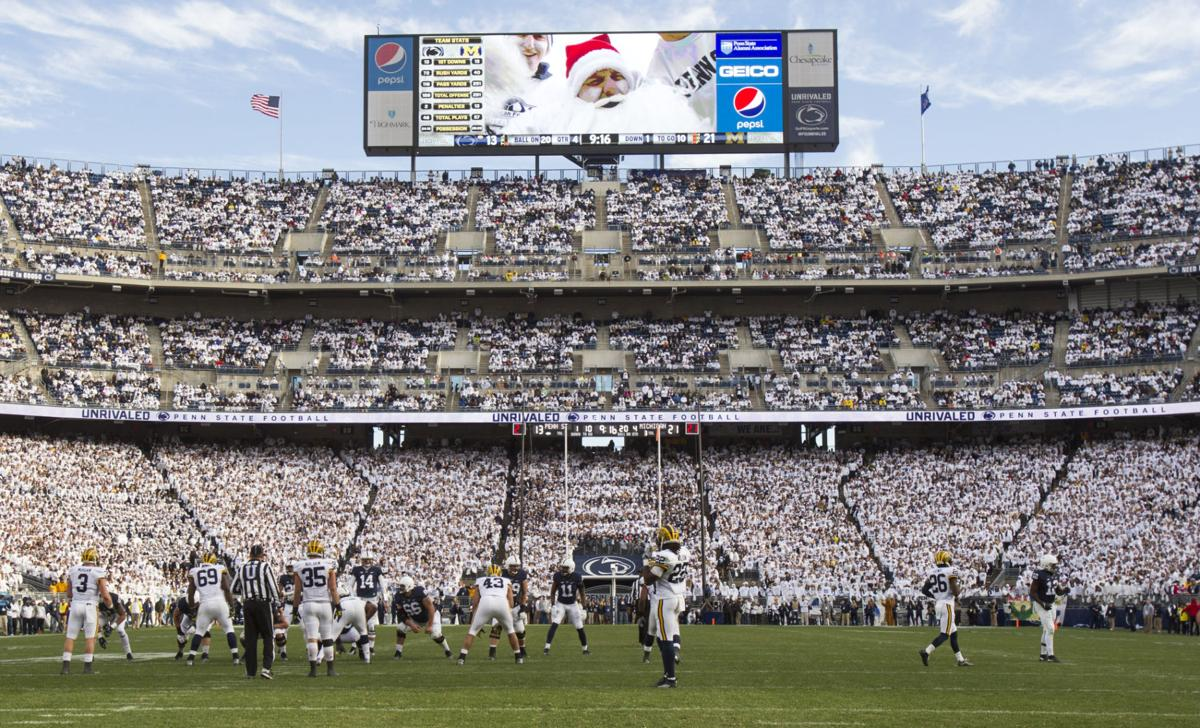 Student section. The Penn State ...