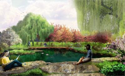 Arboretum pollinator garden 3