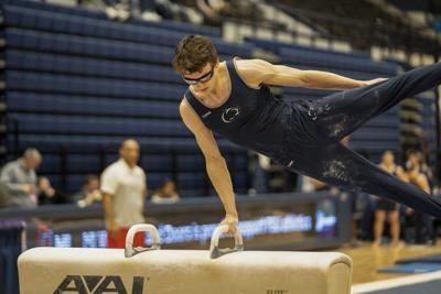 Penn State Men's Gymnastics Vs. Ohio State, Nedoroscik on Pommel Horse