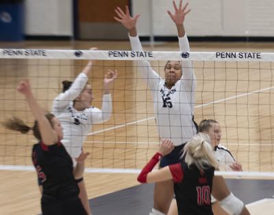 Penn State Women's Volleyball vs. Rutgers, Serena Gray