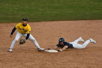 Baseball - PSU vs. Michigan, Robison (17)