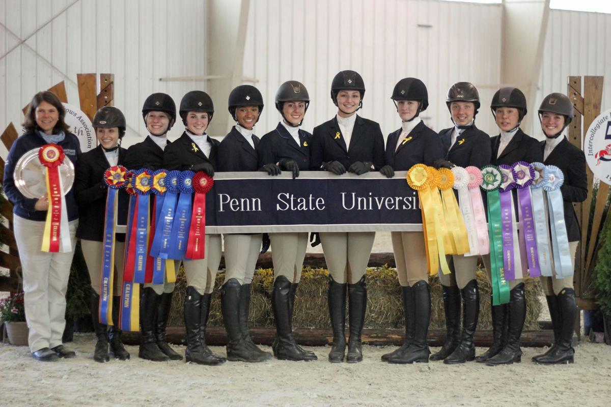 Turning Heads As A Group Penn State Equestrian Team