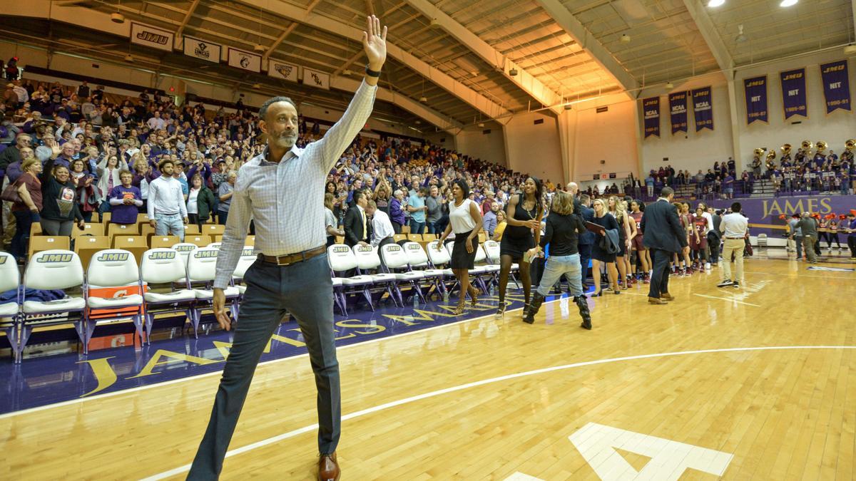 Virginia Tech vs James Madison Women's Basketball - Kenny Brooks