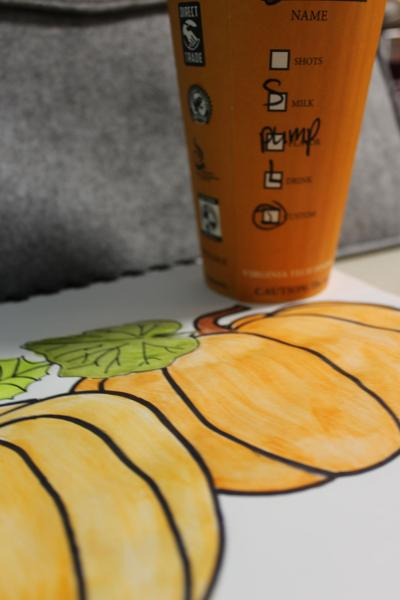 Pumpkin spice and everything nice: The perfect pumpkin spice latte on campus PICTURE