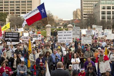 Pro-gun rights rally