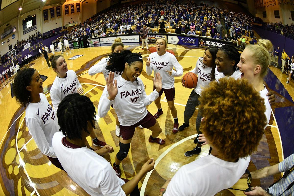 Virginia Tech vs James Madison Women's Basketball