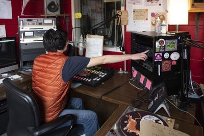 WUVT Office - DJ