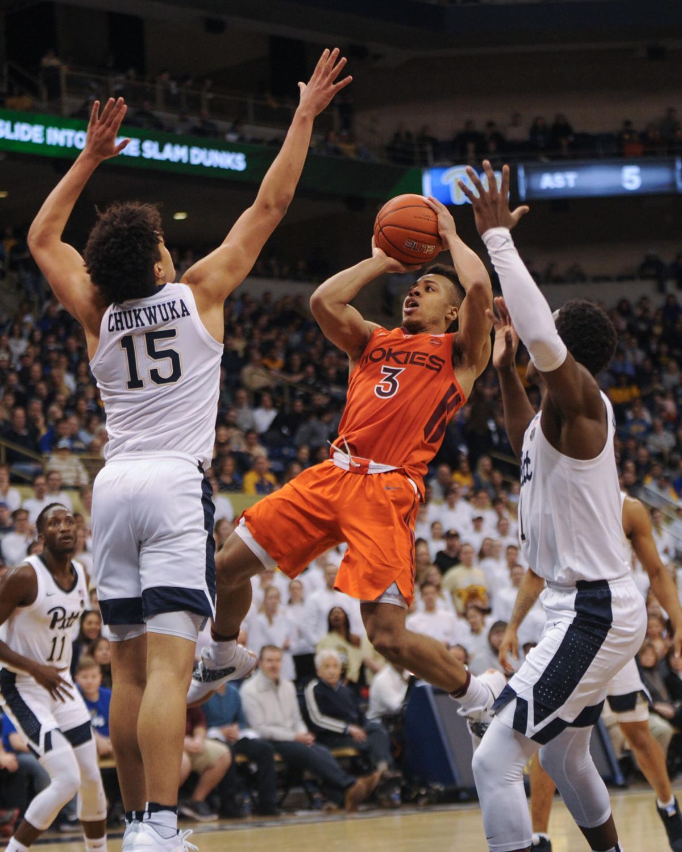 Virginia Tech vs Pittsburgh Men's Basketball