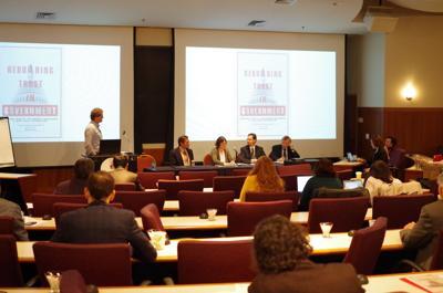 School of Public and International Affairs talk