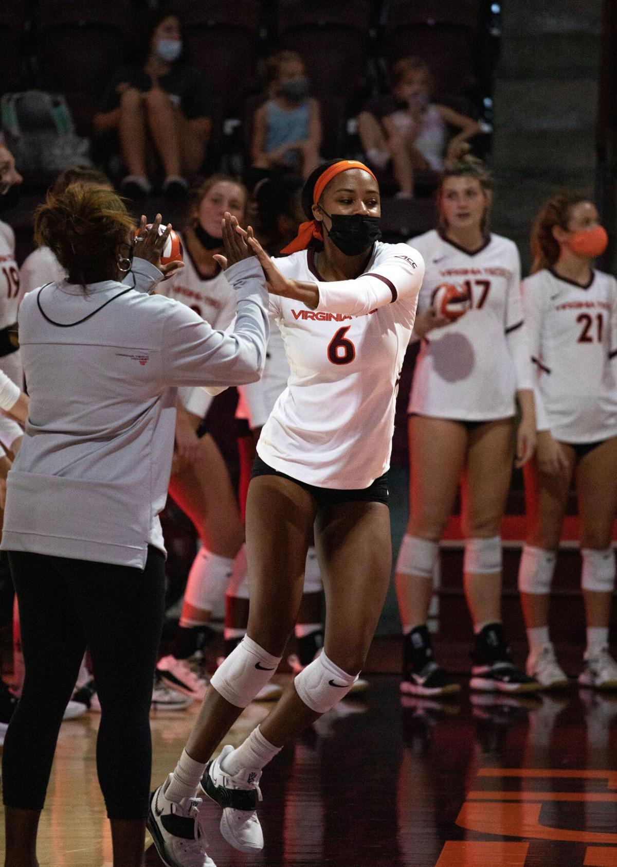 Womens Volleyball vs NCAT 9/18/21