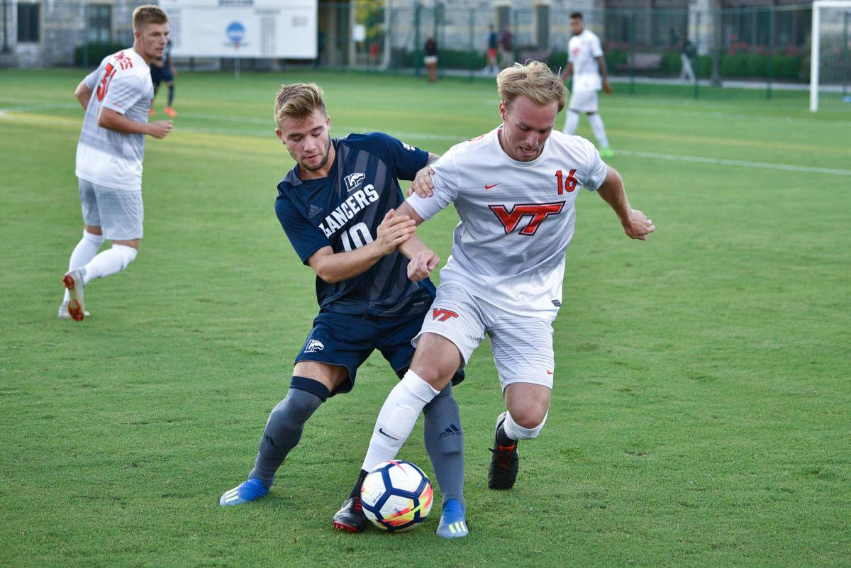 Men's soccer bounces back with victory over Longwood ...