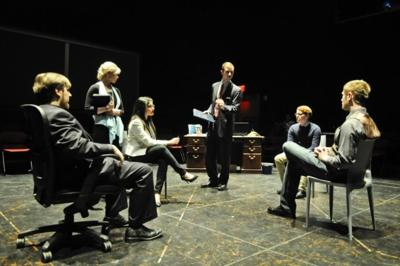Modernizing a classic: Tech theater student directs play inspired by Oedipus Rex