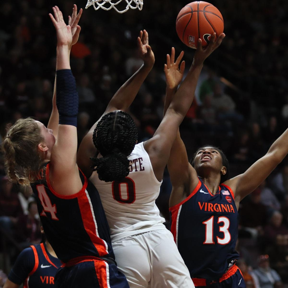 VT women's Basketball vs. UVA