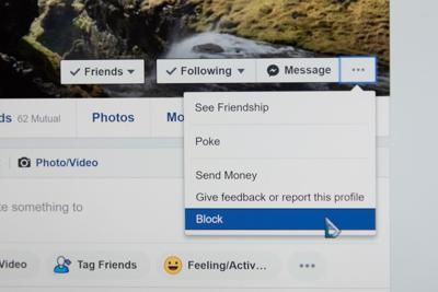 Cutting off ex-friends streamlines process, prevents unnecessary