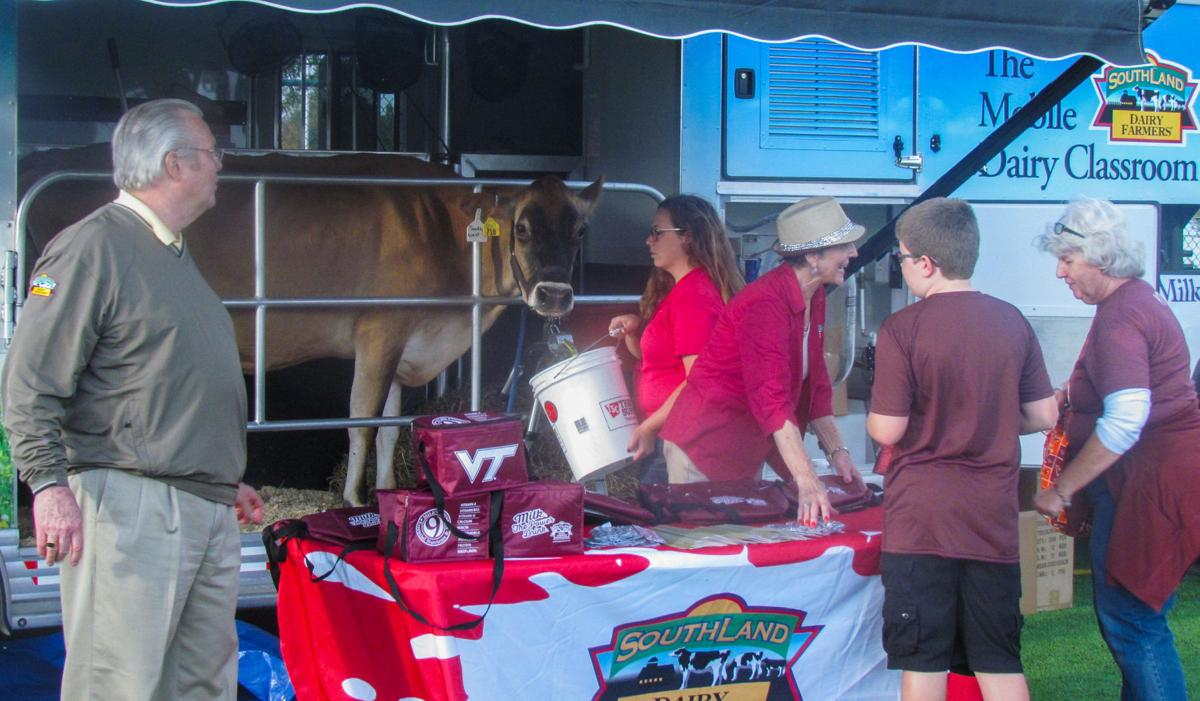 Southwest Dairy Farmers bring live cow, milking demonstrations to NC ...