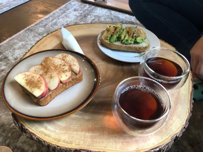 Tea and Jam Plate