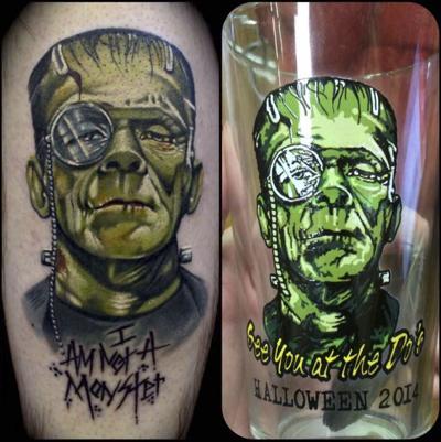 LaDouceur's tattoo design