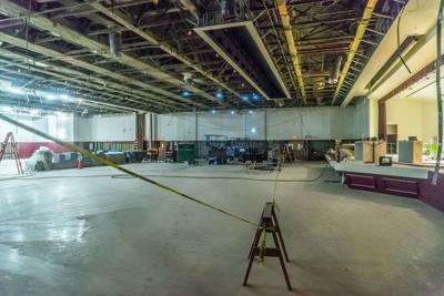 Commonwealth Ballroom in construction