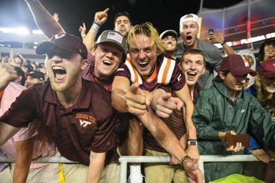 Virginia Tech vs Florida State (Football) - Fans