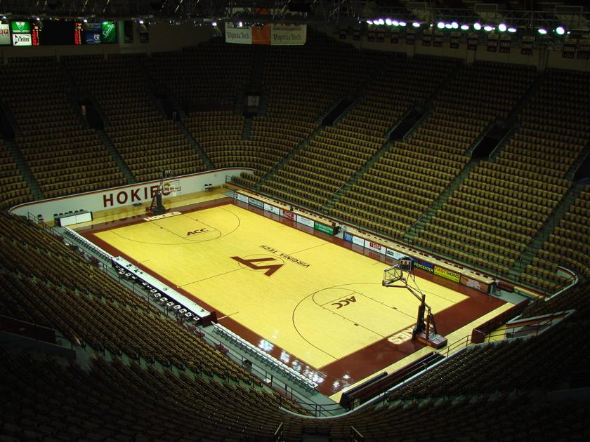 Cassell Coliseum floor named 'Virginia Tech Carilion Court ...