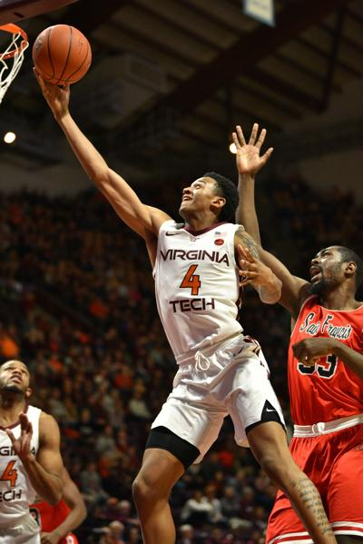 VT Men's Basketball vs Saint Francis
